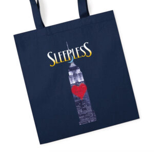Sleepless the Musical Tote Bag