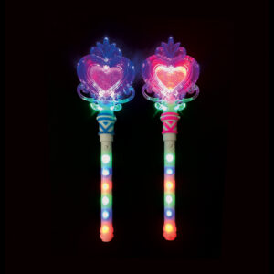 Long LED Heart Wand